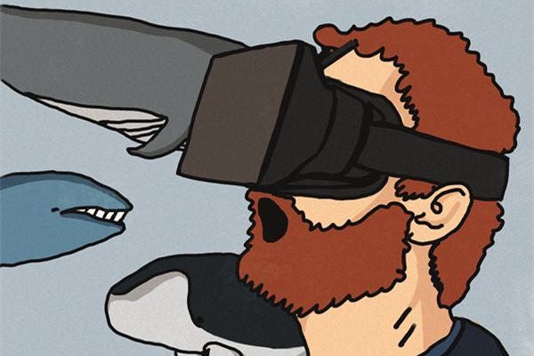 FUN   在未来,VR可以让你变身为……