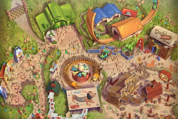 上海迪士尼度假区揭晓全新神奇体验:上海迪士尼乐园的扩建项目将为胡迪、巴斯光年和他们的玩具朋友打造全新主题园区