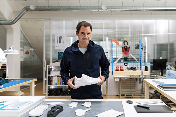 羅杰·費德勒和瑞士運動品牌On昂跑合作推出 以網球為靈感的高科技運動鞋
