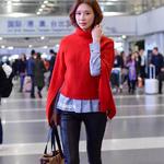 著名影星林志玲受邀出席  Versace 上海恒...