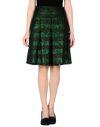 深绿色 ...À_LA_FOIS... 及膝半裙