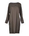 铅灰色 BRIAN DALES 短款连衣裙