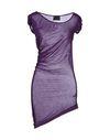 紫色 CLASS ROBERTO CAVALLI T-shirt