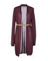 紫色 JUCCA 针织开衫