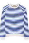 + Peter Jensen Mariner 条纹纯棉运动衫