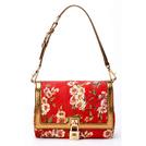 Dolce&Gabbana杜嘉班纳2014春夏系列红色花纹图案手