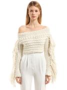 """白毛衣就是冬天的""""白T恤"""""""