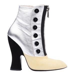 Miu Miu2013秋冬季系列银色短靴