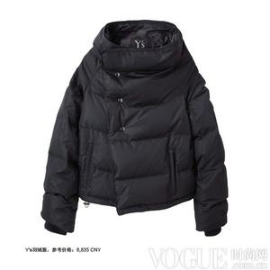 基本短款羽绒服穿出超时髦风貌##2013-11-22##冬季外出