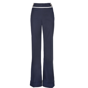 Carolina Herrera 高腰喇叭裤