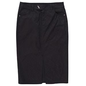 MO&Co. 黑色复古高腰半身裙