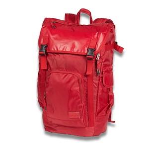 CONVERSE运动系列翻盖双肩背红色