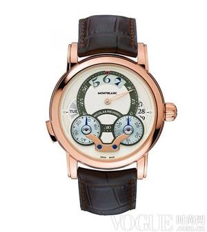 万宝龙尼古拉斯凯世计时腕表