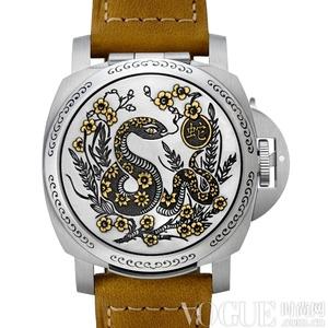 刻在表盘里的生肖 11款灵蛇腕表