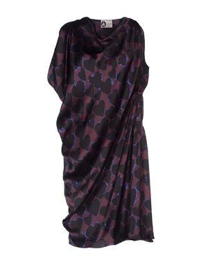 深紫 LANVIN 短款连衣裙