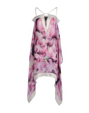 粉红色 ROBERTO CAVALLI 中长款连衣裙