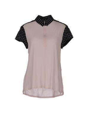 浅粉色 NIKE Polo衫