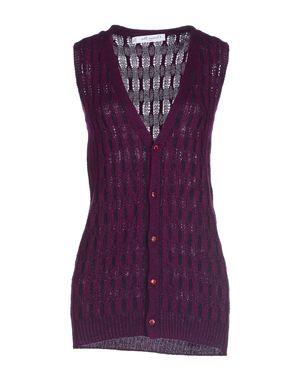 石榴红 DIOR 羊绒针织衫