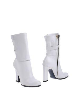 白色 JIL SANDER 短靴
