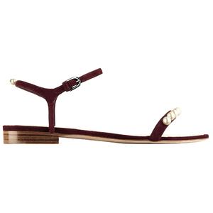Chanel香奈儿2014春夏高级成衣系列棕色凉鞋