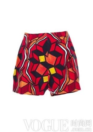 2014春夏潮流:奢华运动短裤
