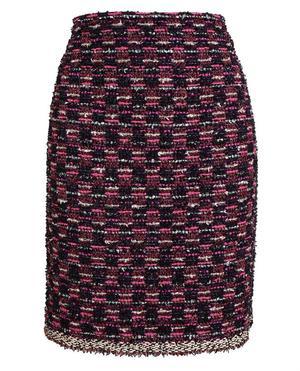 Bouclé Tweed Pencil Skirt