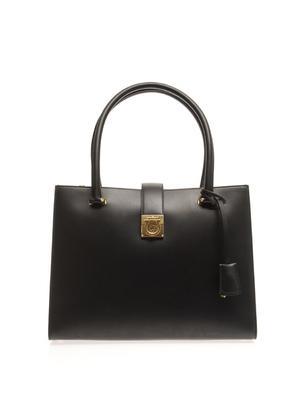 Marlene medium leather tote