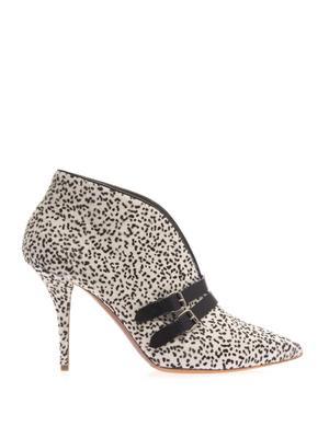 Phoenix calf-hair ankle boots