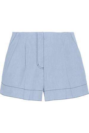 粘合钱布雷布短裤