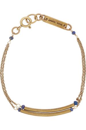 金色尖晶石手链