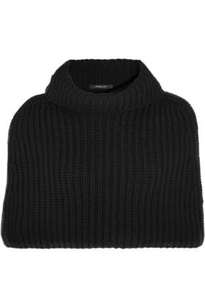 短款羊绒披风