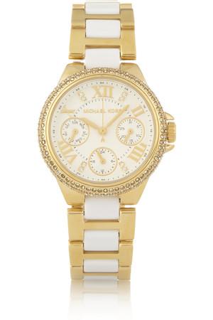 Camille 醋酸树脂金色不锈钢腕表