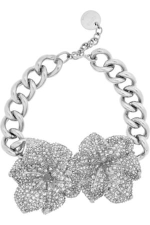 施华洛世奇水晶镀银项链