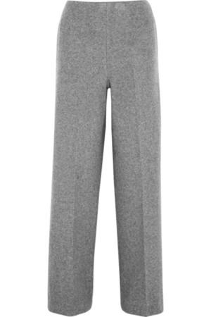 羊毛混纺阔腿裤