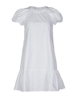 白色 MIU MIU 短款连衣裙
