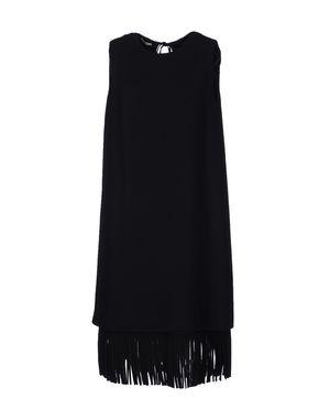 黑色 MIU MIU 及膝连衣裙