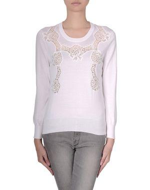 白色 DOLCE & GABBANA 长袖针织衫