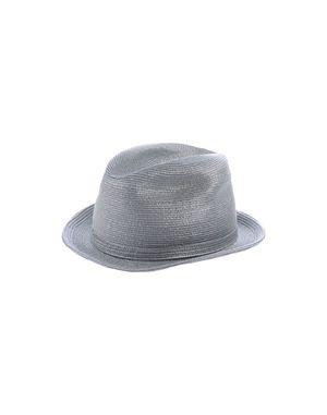 灰色 GIORGIO ARMANI 帽子