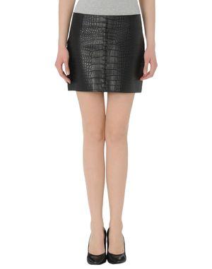 黑色 ALEXANDER WANG 皮裙
