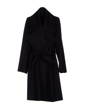 黑色 ANN DEMEULEMEESTER 大衣