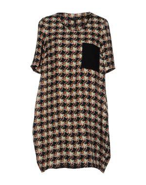 淡灰色 RAG & BONE 短款连衣裙