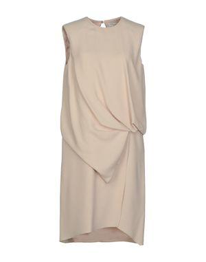 浅粉色 VIONNET 及膝连衣裙