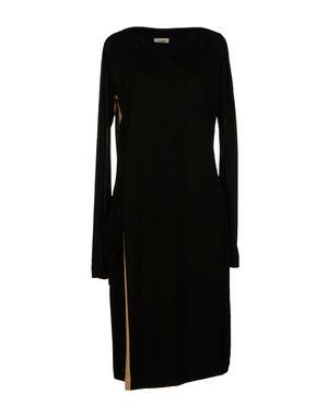 黑色 JEAN PAUL GAULTIER 及膝连衣裙