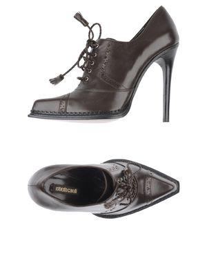 深棕色 ROBERTO CAVALLI 系带鞋