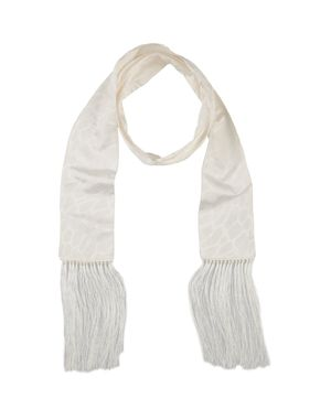 白色 ROBERTO CAVALLI 围巾