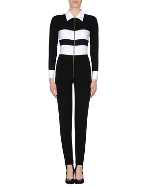 黑色 MOSCHINO 连身长裤