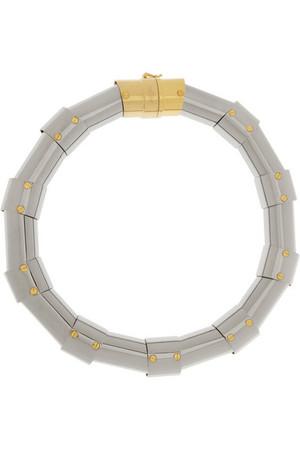银色项圈式项链