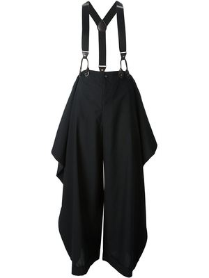 JEAN PAUL GAULTIER VINTAGE suspender trousers