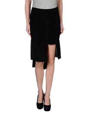黑色 MAISON MARTIN MARGIELA 1 及膝半裙