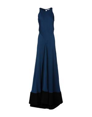 石青色 VIONNET 长款连衣裙